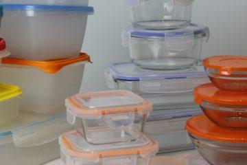 Cristal o plástico para guardar los alimentos