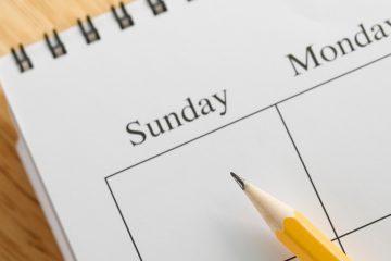 calendario de rutina para adolescentes