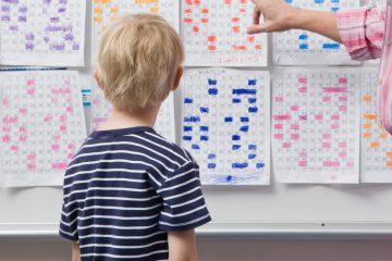 calendario de rutinas para niños